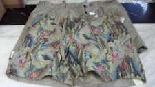Tailor Vintage Reversible Shorts - Khaki/Vintage Birds