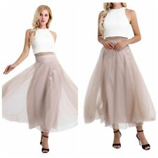 Women 2PCS Lace Party Prom Ball Evening Gowns Bridesmaid Formal Pageant Dress