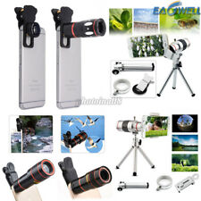 For iPhone 5 5S SE Universal 8X 10X 12X 18X Zoom Camera Lens Telephoto Telescope