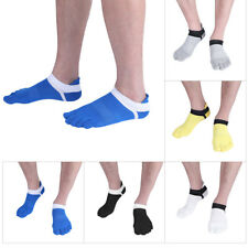 5 Pairs Men's Women's Five Fingers Toe Socks Cotton Ankle Sports Yoga Casual