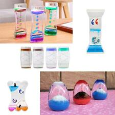 Floating Liquid Timer Motion Visual Hourglass Oil Drop Gravity Toy -11Style Pick