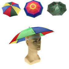 Cap Outdoor  Headwear Cap Head Hat Golf Fishing Camping Sun Umbrella Foldable PO