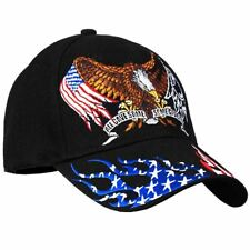 "POW/MIA ""Some Gave All, All Gave Some"" Black Baseball Cap/Hat - 1, 2, or 4 Pack"