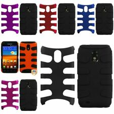 Red/Black/Pink/Blue Fishbone Hybrid Hard Case For Samsung Galaxy S II S2 i9100