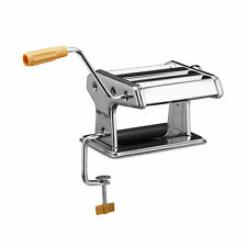 Pasta Maker Pasta Machine Noodle Machine with Clamp Chromed Metal Noodle Maker