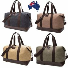 Canvas Large Sports Carry HandBag Travel Luggage Overnight Duffle Tote Gym Bag