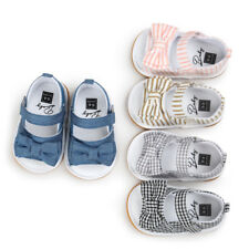 0-18Month Baby Girl Bow tie Cloth Shoes Sandals Spring Summer Indoors Outfits