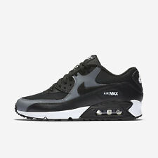 Nike Air Max 90 [325213-037] Women Casual Shoes Black/Black-Cool Grey