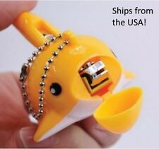 Cute Dolphin Nail Clippers Scissors Mini Cartoon Nail Cutter with Key Ring