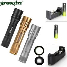 ZOOM 3Modes Zoomable 15000LM  XML T6 LED Flashlight Torch 18650+Charger /
