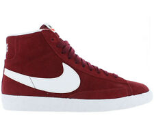 Nike Wmns Blazer Mid Suede Shoes Women's Sneakers Red Leather Trainers