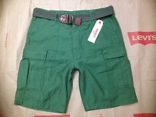 Size 30, 32, 33, Levi's Men's Fort Cargo Short, Relaxed 100% Cotton, Green, $56.
