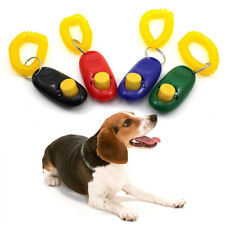Big Button Trainer Aid Dog Cat Pet Clicker Training Click With Wrist Band Strap