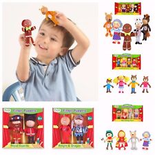 Finger Puppets Fiesta crafts boxed set;  puppet theatre   Story Sacks