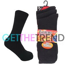 10 Pairs Mens Sports Socks Thermal Athletic Rich Cotton Footwear Multipack 6-11