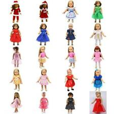 HANDMADE DRESS OUTFITS FOR 18INCH AMERICAN GIRL MY LIFE DOLL GIRLS XMAS GIFTS