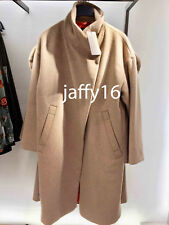 ZARA WOMAN LONG COAT WITH WRAPAROUND COLLAR MINK XS-XL REF. 8073/234