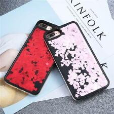 Bling Glitter Love Heart Phone Cases For Iphone 7 6 6S Plus Case Fashion Dynamic