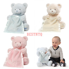Peek A Boo Teddy Bear Animated Baby Stuffed Animal (Fast Shipping)