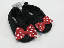 NWT Baby Gap Girls Size 3 6 12 18 24 Months Red Bow Minnie Mouse Crib Shoes