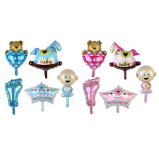 1 Set Baby Shower Balloons Foil Party Decoration Boy Girl Air Inflatable Cute