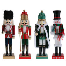 Wooden Nutcracker Walnut Soldier Christmas Decoration Ornaments Xma's Gifts