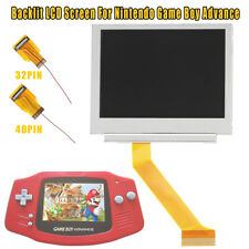 32/40 Pin LCD Screen Backlit Mod Kit For Nintendo Game Boy Advance GBA AGS-101