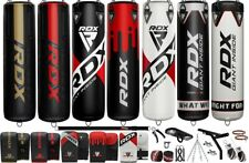 RDX Heavy Punching Bag UnFilled Boxing Set Gloves MMA Training Bracket Chain CA