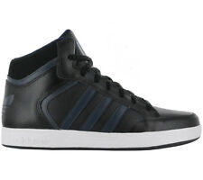 Adidas Men's Sneakers VARIAL MID BLACK SHOES SKATE SHOES LEATHER NEW Y4059