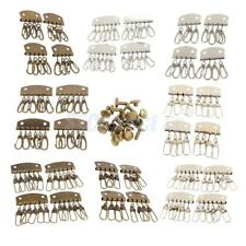 4pcs Lobster Clasps Clips Bag Key Ring Hook Keychain Purse Wallet Accessories