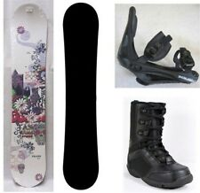 NEW TRANS SNOWBOARD, BINDINGS, BOOTS PACKAGE - 130cm