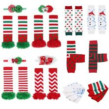 Holiday Christmas Xmas Children Child Crawl Leggings Tight Warmer Socks Girl/Boy
