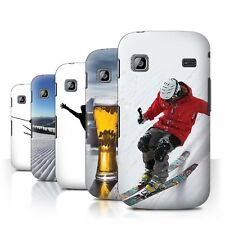 STUFF4 Back Case/Cover/Skin for Samsung Galaxy Gio/S5660/Skiing/Snowboarding