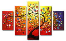MODERN ABSTRACT HUGE LARGE CANVAS ART OIL PAINTING (No Frame)