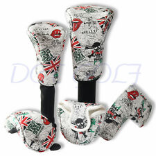 Golf Headcovers Head Cover Club For Driver Fairwood Hybrid Mallet Blade Putter