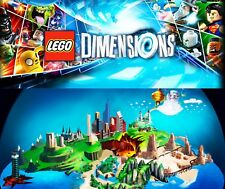 New LEGO Dimensions Level Team Fun Pack Original Sealed Complete Factory Box