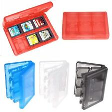 Game Card Carry Case Holder 28 in 1 Cartridge Storage Box for Nintendo 3DS XL RA