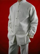 Fine Linen Kung Fu Martial Arts Taichi Uniform Suit XS-XL or Tailor Custom Made