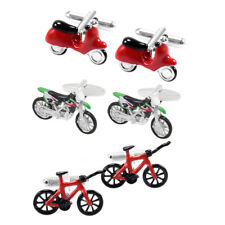 Novelty Car Motorcycle Cufflinks Motorbike Cuff Links Fashion Women Wedding