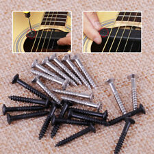 50 pcs Electric Guitar Bass Pickup Ring Humbucker Pickup Surround Mounting Screw