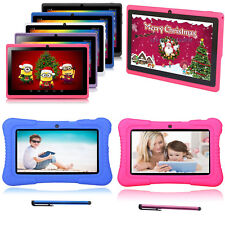 "New version 7"" Google Android Tablet 16GB Bundle Case for Kids Gift Xmas Lot US"