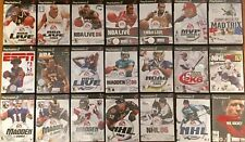 PS2 PlayStation 2 Sports Game Lot Madden NBA Live NHL ESPN You Choose Your Game