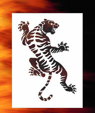 Tiger 3 Tribal Animal Airbrush Stencil Spray Vision Template