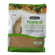 ZuPreem Natural Blend Bird Food for medium sized birds in 2.5 lb. or 20 lb. bags