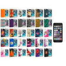 For Apple iPhone 6 (4.7) Design TPU Case Cover+Clear Screen Protector Film