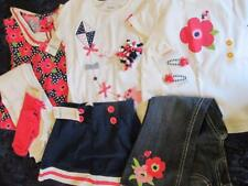 NWT 5t 4t Gymboree Blooming Nautical Bird Kite Flower Skirt Hair Curlies Jeans