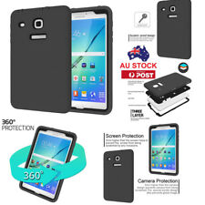 "AU Shockproof Heavy Duty Case Cover For Samsung Galaxy Tab E 8.0"" SM-T377 T375"