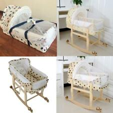 3 in 1  Portable Baby Crib Playpen Travel Infant Bassinet Bed Mosquito Net U4I2