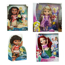 Disney Singing Moana & Friends Doll Set Action Figures Light Music Song Toy