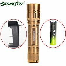 ZOOM 3Modes Zoomable 15000LM  XML T6 LED Flashlight Torch 18650+Charger Z